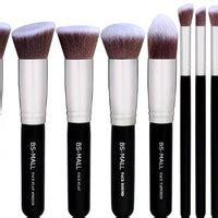 Makeup Brush Blush On Foundation Kabuki Shell Kerang Silver Import shop frank n furter on wanelo