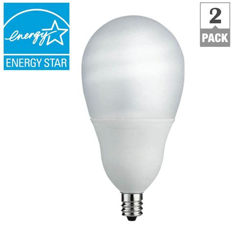 cfl ceiling fan bulbs philips 60w equivalent soft white a19 silicone ceiling fan