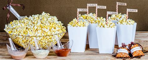 Home Design Decorating Ideas Gourmet Popcorn Bar Featured Items Smarty Had A Party