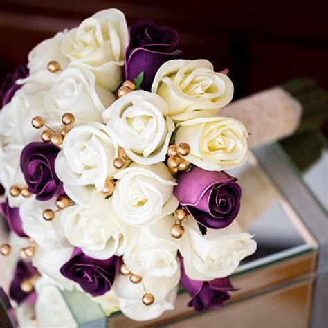 real flower wedding bouquets the bridal flower real touch bouquets and silk wedding
