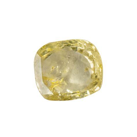 Yellow Sapphire Ceylon Sa106 yellow sapphire pukhraj 3 8 carat from ceylon jewellers pvt ltd