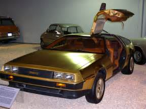 gold plated car the petrol stop gold delorean dmc 12