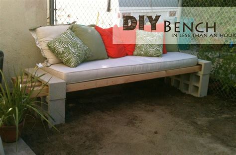 chair bench diy easy diy patio furniture projects you should already start
