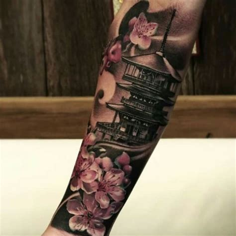 japanese temple tattoo best 20 japanese temple ideas on
