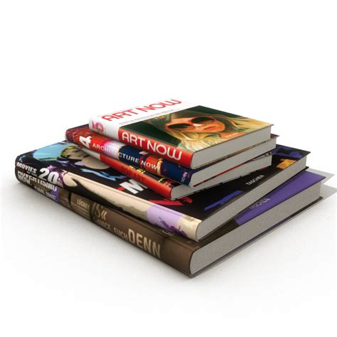 pictures with books book magazines obj