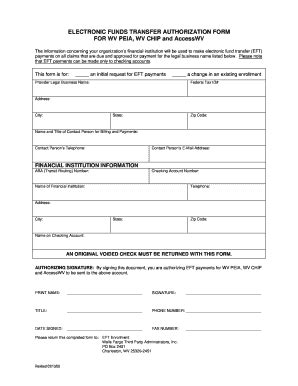 Permalink to Eft Authorization Form Template