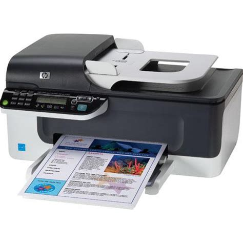 Printer Hp Officejet All In One hp officejet j4580 all in one printer cb780a b h photo
