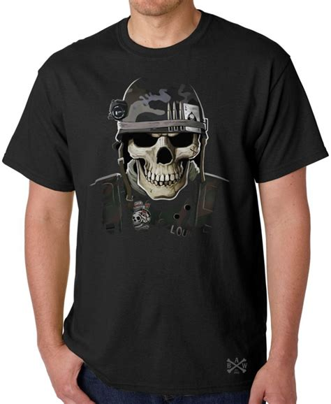 Kaoa Nafy Tshirt skull t shirt back alley wear