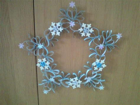 bloemen maken van wc rollen krans van wc rollen leuk om te zien pinterest flower