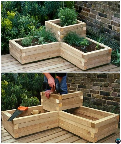 Backyard Planters Ideas by The 25 Best Garden Ideas On Gardening
