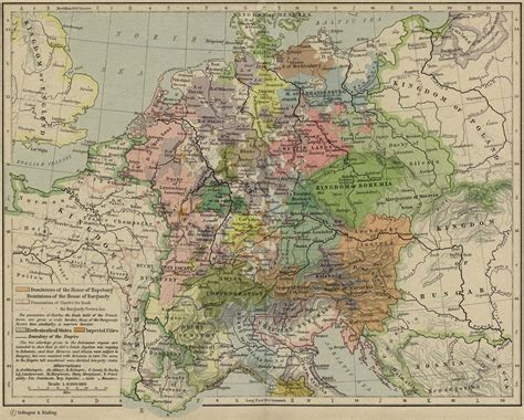 central europe map europe historical maps perry casta 241 eda map collection