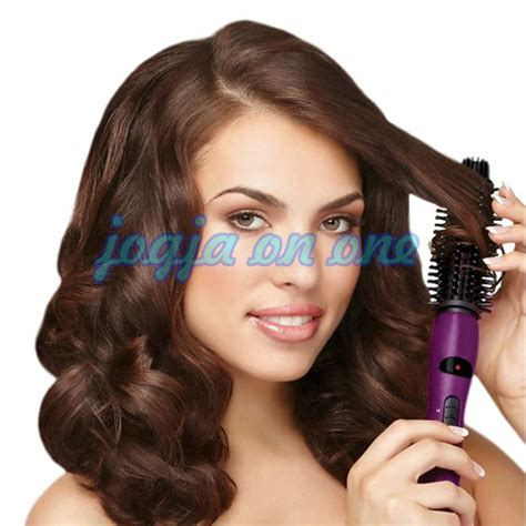 Catok Rambut Ionic jual sisir catok instyler ionic 2 in 1 brush and