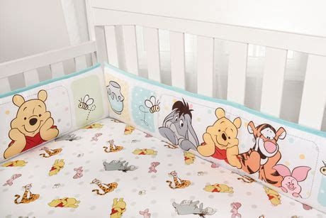 Winnie The Pooh Crib Bedding Canada Winnie The Pooh 4 Crib Bumper Set Walmart Canada