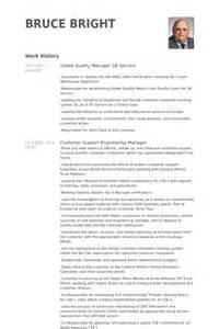 quality manager resume sles visualcv resume sles
