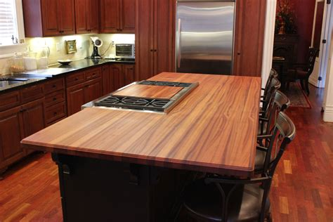 Wood Countertop by Sapele Mahogany Countertops J Aaron