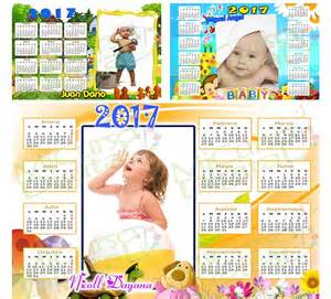 Calendario 2017 Editable Calendarios 2017 Editables Photoshop Png Psd Originales
