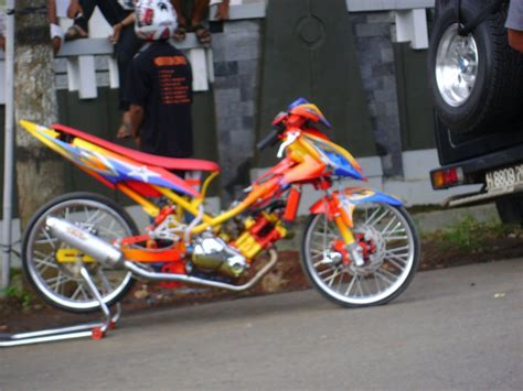 modifikasi motor racing bengkel modifikasi modifikasi racing look