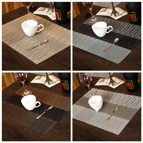 kitchen table protector home hotel kitchen dinner dining table mat placemat pad