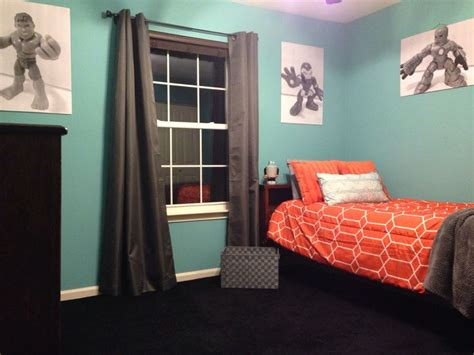 landon s newly decorated room painted with sherwin williams reflecting pool paint including