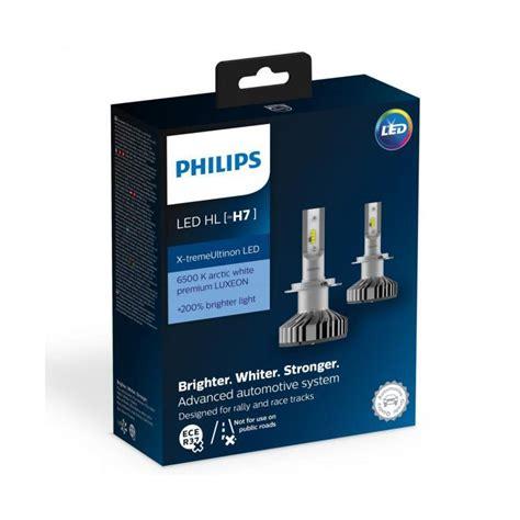 Philips X tremeUltinon LED Car Headlight Bulb H7 (Twin