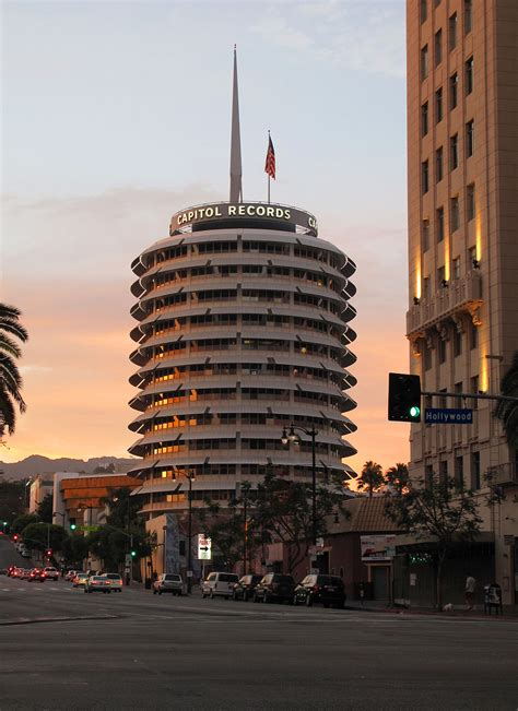 Calif Records Capitol Records Building