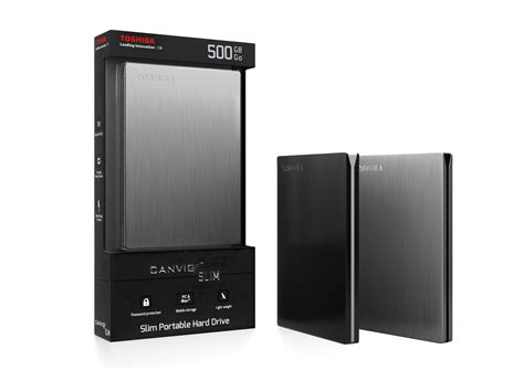 Hardisk Toshiba Canvio Slim Toshiba Introduces World S Thinnest Smallest Portable