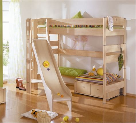 kids bunk beds with slide funy play bunk beds with kids slide interior design ideas