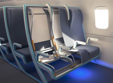 aircraft seat upholstery morph a clever aircraft seating concept that has an
