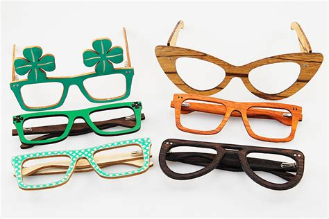 Laser Cut Wooden Glasses Laser Cut Glasses Template