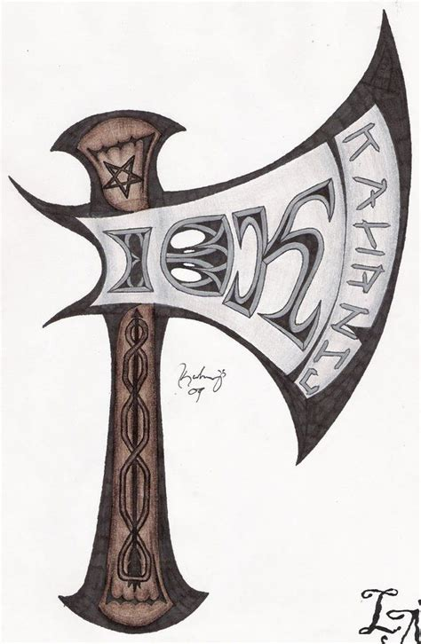 axe tattoo 23 best battle axe drawings images on