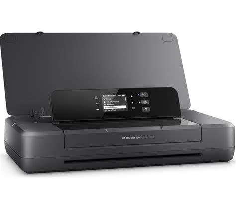 Wifi Portable Hp buy hp officejet 200 mobile wireless printer free delivery currys