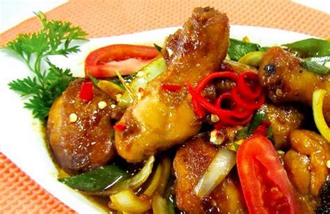 cara membuat opor ayam kecap resep ayam kecap pedas bumbu bango ala resto resep hari ini