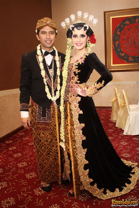 Baju Adat Jawa Timur Anak2 ini dia seputar busana pengantin jawa modern gebeet