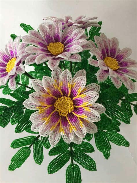 fiori fatti con perline pin di virna su beaded flowers fiori di