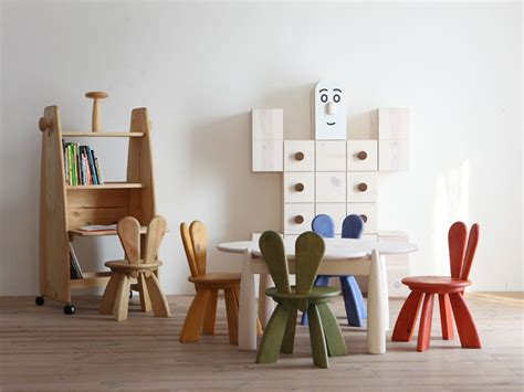 chairs for kids bedrooms ecological and funny furniture for kids bedroom by hiromatsu digsdigs