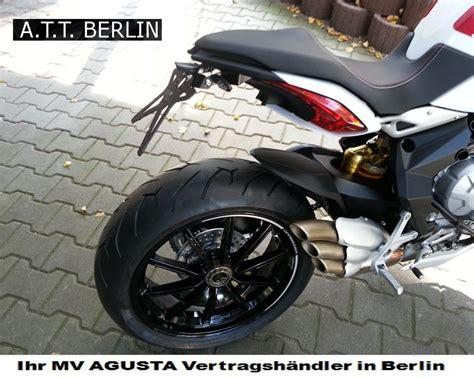 Motorrad Abmelden Berlin by Mv Agusta News Dragster Umbau Kennzeichenhalter