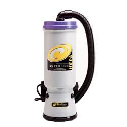 Back Pack Vaccum proteam 107119 10 qt coachvac hepa backpack vacuum cleaner with 107100 xover floor tool