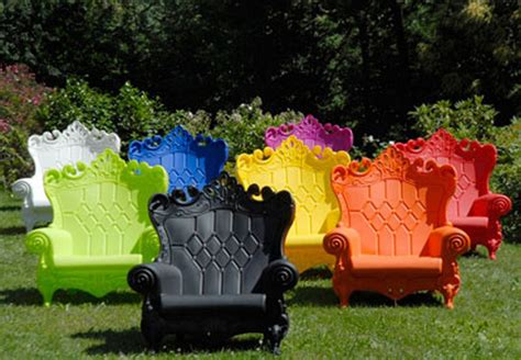 Queen Of Love Armchair Eclectic Outdoor Lounge Chairs Funky Patio Furniture