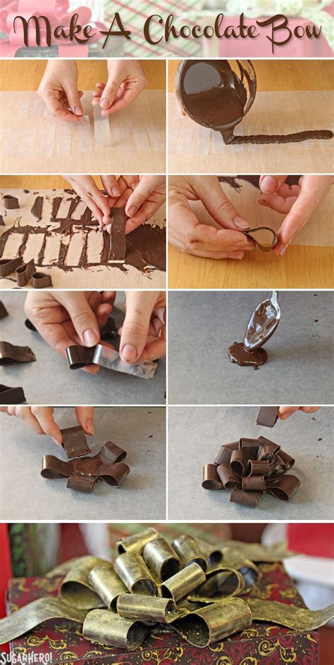 How To Make Chocolate Decorations by Chocolate Wrapped Present Cakes Sugarhero