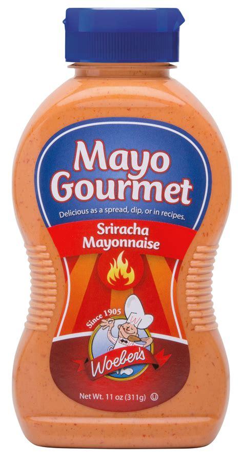 sriracha mayo nutrition woeber s mustard company mayo gourmet