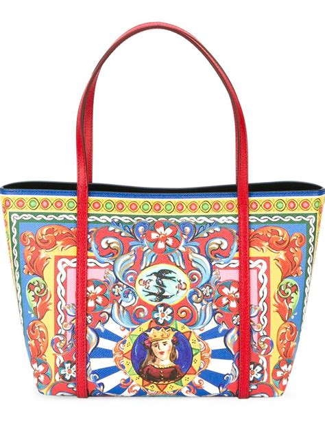 Dg Dolce And Gabbana Ocelot Print Tote by Dolce Gabbana Escape Tote Lyst