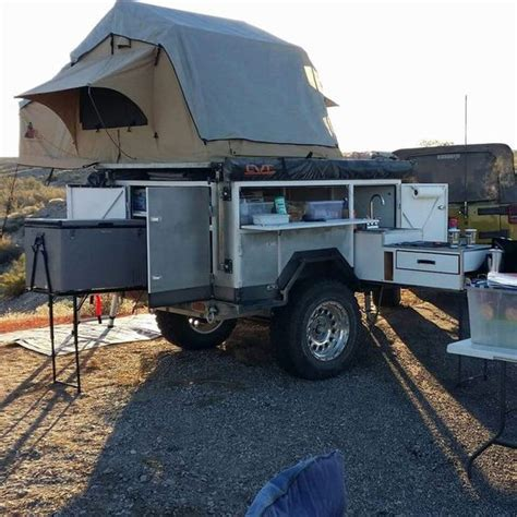 kitchen ware expedition trailer road trailer jeep