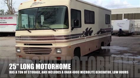 Faucet Ratings 1996 Fleetwood Storm 25 Quot Foot Motorhome Youtube