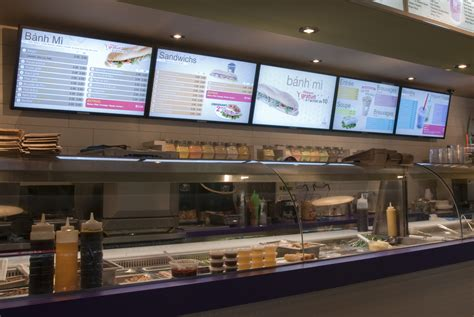 cuisine tv menut digital signage in canada banh mi shop wants to rule
