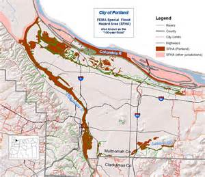 oregon flood maps portland city of