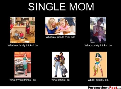 Single Mother Meme - single mom what people think i do what i really do