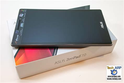 tech arp unboxing the asus zenpad 7 0 z370cg tablet
