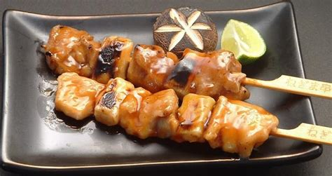 An Yukitri yakitori food is my happy place