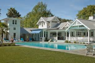 Luxury Craftsman Style Home Plans victorian pool house atherton california victorien