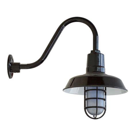 Rustic Led Adds Efficiency Style To Warehouse Lighting Gooseneck Barn Light Fixtures